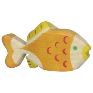 Holztiger Goldfisch - Holzspielzeug Profi