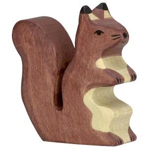 HOLZTIGER Braunes Eichhörnchen