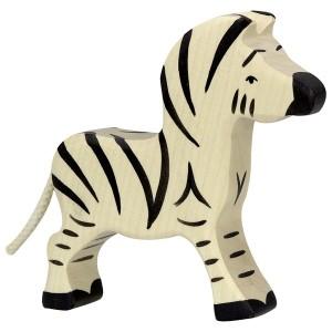 HOLZTIGER Kleines Zebra