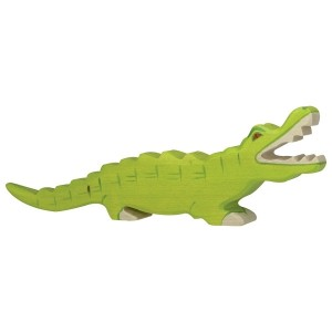 HOLZTIGER Krokodil - Holzspielzeug Profi