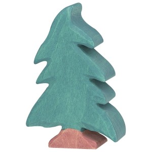Holztiger Kleiner Nadelbaum - Holzspielzeug Profi