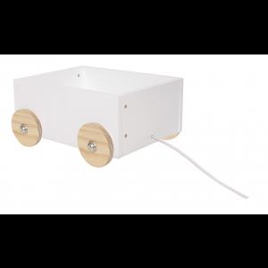JaBaDaBaDo Kleine Spielzeugkiste mit Rädern