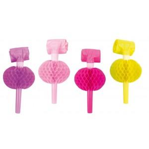 JaBaDaBaDo Luftrüssel Honeycomb pink (8 Stk.)
