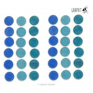 Grapat Mandala Kleine Blaue Scheiben Coins
