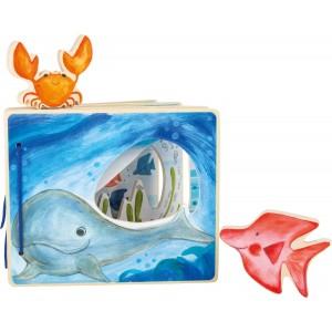 Holzbilderbuch Unterwasserwelt
