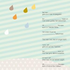 Rasmussons Messlatte / Ereignisplakat