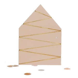 Rasmussons Klemmbrett Haus rosa