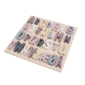 sebra Puzzle ABC mitternachtspflaume