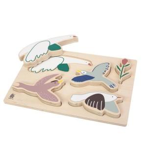 sebra Puzzle Singing Birds