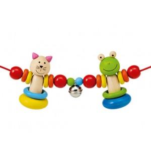 Selecta Kinderwagenkette Amici - Holzspielzeug Profi