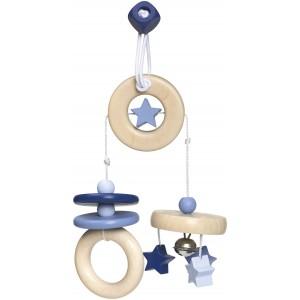 Selecta bellybutton Mini-Trapez Sternchenspaß blau