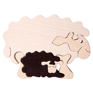Tedefamily Puzzle Schaf mit Lamm