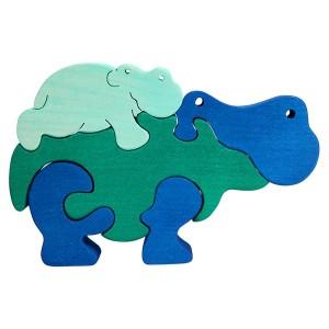 Tedefamily Puzzle Nilpferde