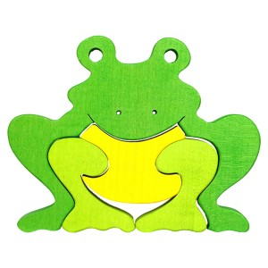 Tedefamily Puzzle Frosch