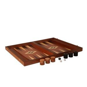 Übergames Backgammon Mahagoni