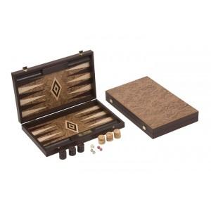 Übergames Backgammon Walnuss robust