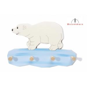 Weizenkorn Kindergarderobe Eisbär Björn