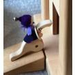 Speelbelovend Riesenklammern (4er Set) - Holzspielzeug Profi