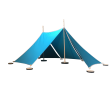 ABEL tent 2 in türkis - Holzspielzeug Profi