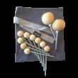 ABEL tent Heringe Set 2 - Holzspielzeug Profi