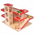 Beck Parkhaus mit Aufzug (ohne Autos!) - Holzspielzeug Profi
