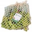 Beck Trioko Dreieck-Puzzle grün: verpackt im Baumwollnetz - Holzspielzeug Profi