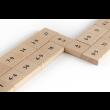 JARDesign DiDi Toys Mathematische Dominosteine Multiplikation bis 10 - schwarz
