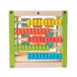EverEarth Aktivitätswürfel: Abakus Rechenrahmen - Holzspielzeug Profi