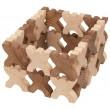 goki nature Xmanis X-Männchen Stapelspiel: Baubeispiel 1 - Holzspielzeug Profi