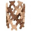 goki nature Xmanis X-Männchen Stapelspiel: Baubeispiel 2  - Holzspielzeug Profi