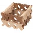 goki nature Xmanis X-Männchen Stapelspiel: Baubeispiel 3 - Holzspielzeug Profi