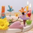 GRIMM´S Stecker Ballerina Fliederduft: Dekobeispiel - Holzspielzeug Profi