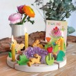 GRIMM´S Stecker Frühlingszwerg: Dekobeispiel - Holzspielzeug Profi