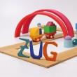 Grimm´s Bauspiel Holzzug: Zug  - Holzspielzeug Profi