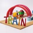 Grimm´s Bauspiel Holzzug: Train  - Holzspielzeug Profi