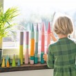 GRIMM´S Große Bauwalzen pastell: kombiniert Pastellwelt - Holzspielzeug Profi