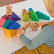 Grimm´s Bauspiel Regenbogenlöwe: spielen - Holzspielzeug Profi