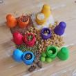 GRIMM´S Russische Püppchen Regenbogen: Spielidee - Holzspielzeug Profi