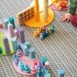 GRIMM´S Große Halbkreise  pastell: Spielidee kombiniert - Holzspielzeug Profi