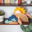 Grimm´s Bauspiel Wetter: kombiniert - Holzspielzeug Profi