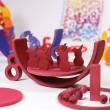 GRIMM´S Regenbogen Zahlenland: kombiniert - Holzspielzeug Profi