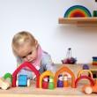 GRIMM´S Haus bunt: Spielidee - Holzspielzeug Profi