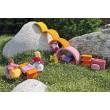 GRIMM´S Rosa-orangenes Bauhaus: Spielidee - Holzspielzeug Profi