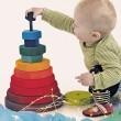 GRIMM´S Riesiger geometrischer Scheibenturm: spielen - Holzspielzeug Profi