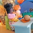 GRIMM´S Biegepüppchen Baby Mia Linde  - Holzspielzeug Profi