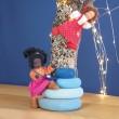 GRIMM´S Biegepüppchen Lisa Ebenholz  - Holzspielzeug Profi