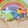 GRIMM´S Taschenzwerge Pastell: kombiniert - Holzspielzeug Profi