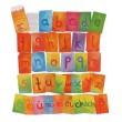 GRIMM´S Alphabet Kartenspiel Kleinbuchstaben: Inhalt - Holzspielzeug Profi