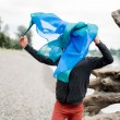 Sarah´s Silks Verzauberte Spielseide Ozean - Holzspielzeug Profi