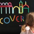 GRIMM´S Magnetspiel Alphabet: mit Kind - Holzspielzeug Profi